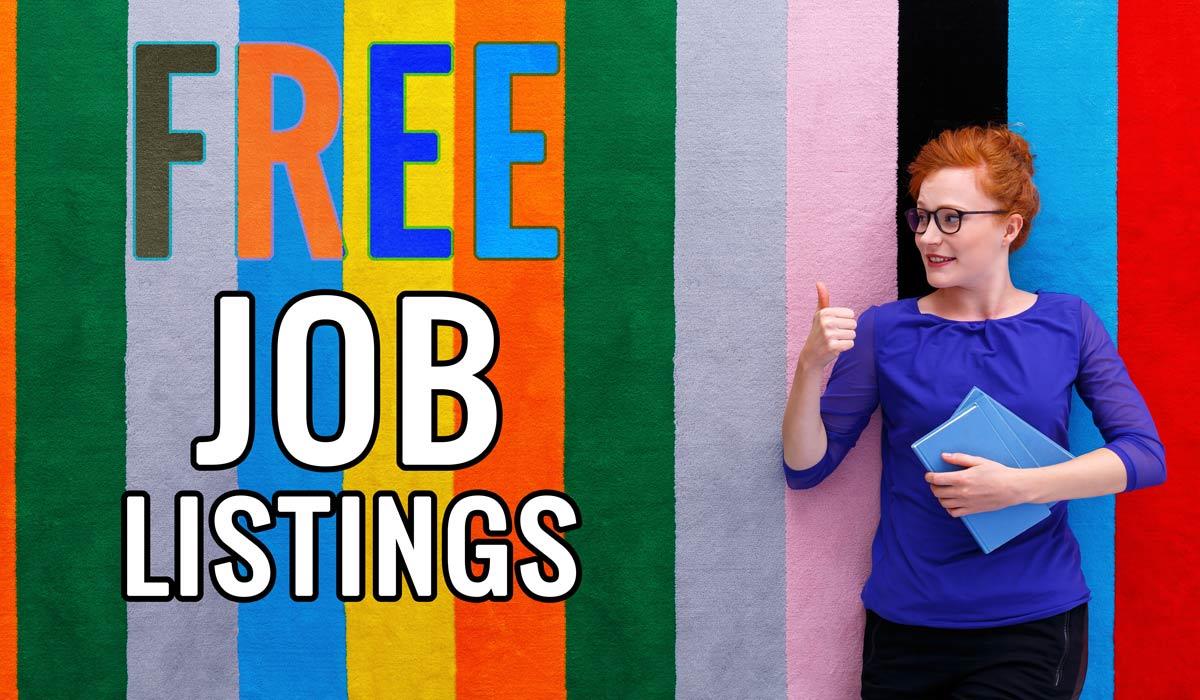 Free Job Listings